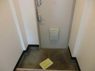 第5荒井マンション 玄関
