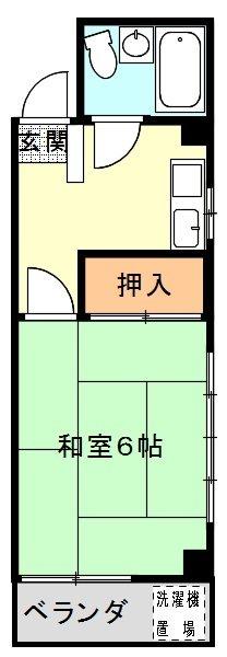 シティハイムA' 203号室 間取り