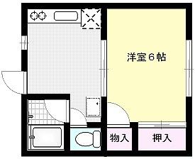 クルトゥラドーモ英萌Ⅰ X01~X04号室 間取り