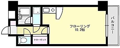 アライパッセージ X01~X05号室 間取り