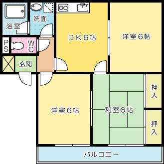 ファミールタカハシ第1ビル 302号室 間取り