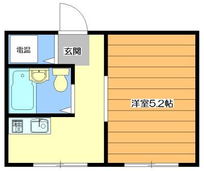 U-house 間取り図
