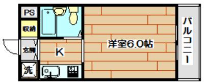 ジョイフル富田 間取り
