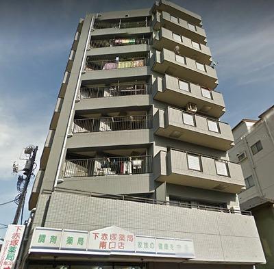 板橋区赤塚新町1丁目 楽器可(ピアノ・弦楽器)マンション 外観