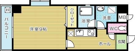 グッドシティ下富野 305号室 間取り