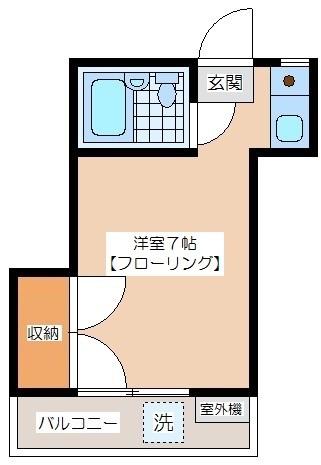 代田ハウス 間取り図