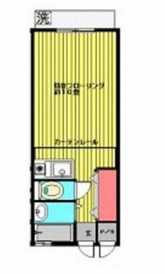 練馬区桜台6丁目楽器可(防音・グランドピアノ・弦・管楽器・声楽)マンション 間取り