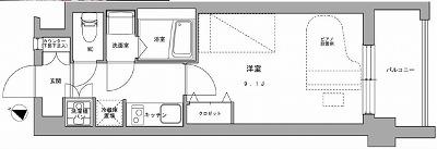 川崎市中原区上小田中6丁目楽器可(防音・24時間演奏・ピアノ・弦・管楽器・声楽)マンション 間取り