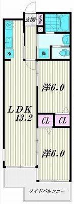 品川区東大井2丁目楽器可(ピアノ・弦楽器・声楽・DTM)マンション 間取り