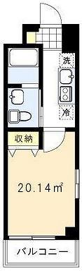 渋谷区円山町楽器可(ピアノ・弦管打楽器・声楽)マンション 間取り