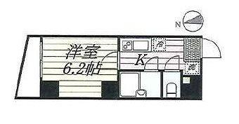 大田区大森中2丁目楽器可(防音・24時間演奏・弦・管楽器・声楽)マンション 間取り
