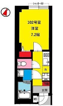大田区鵜の木1丁目楽器可(防音・ピアノ・弦・管楽器・声楽)マンション 間取り