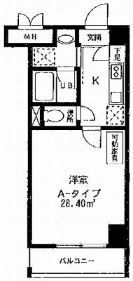 川崎市多摩区登戸楽器可(ピアノ・弦管楽器・声楽・DTM)マンション 間取り