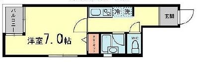 横浜市中区新山下1丁目楽器可(防音・グランドピアノ・弦・管楽器・声楽)マンション 間取り