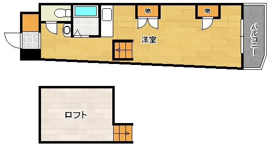305号号室 間取り