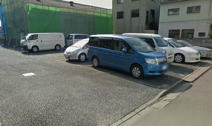 平柳第一駐車場 外観