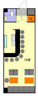 クリスタルプラザⅡ 5A号室 間取り