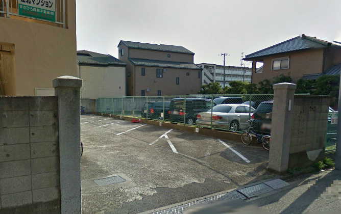 江北マンション駐車場 外観