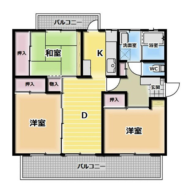 京都東山 間取り図