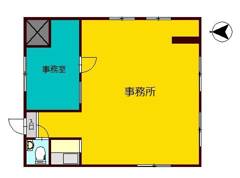 松山ビル 201号室 間取り