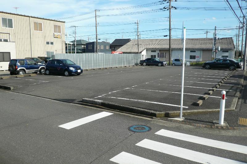 夢の丘小学校前駐車場(軽自動車限定区画) 外観