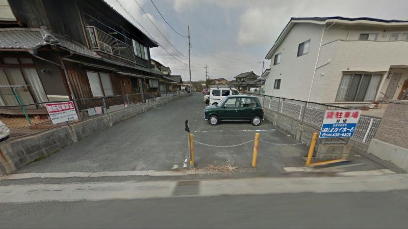 西阿知駐車場 外観写真