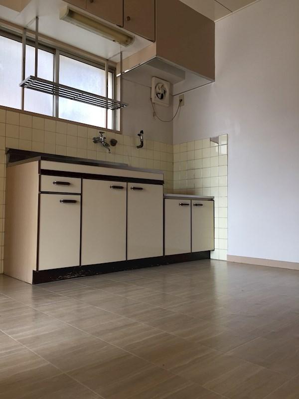 コーポ香流橋 キッチン
