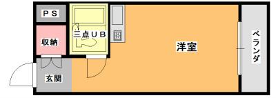 武藤ハイツ 301号室 間取り
