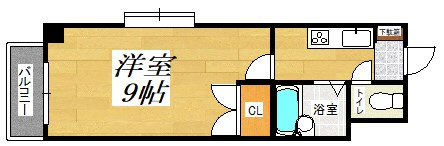 No.21 インターネット片野 間取り