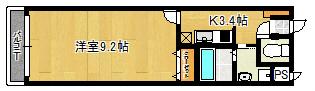 301号室 間取り