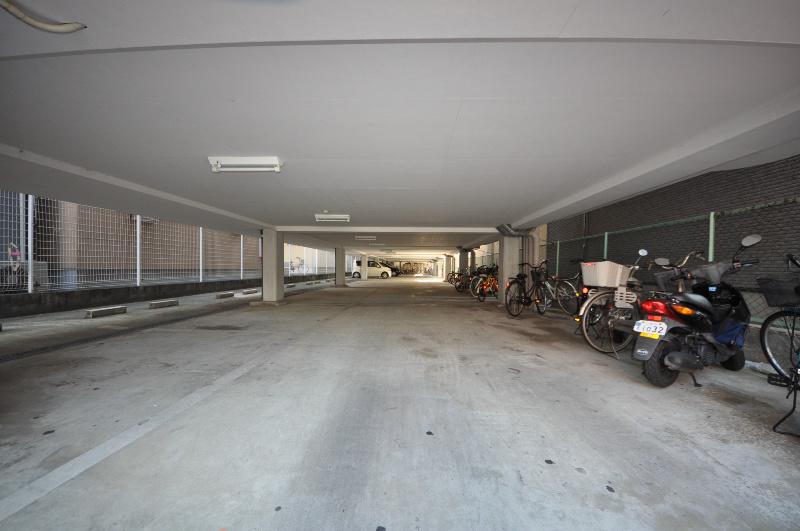 プレアール山城 駐車場