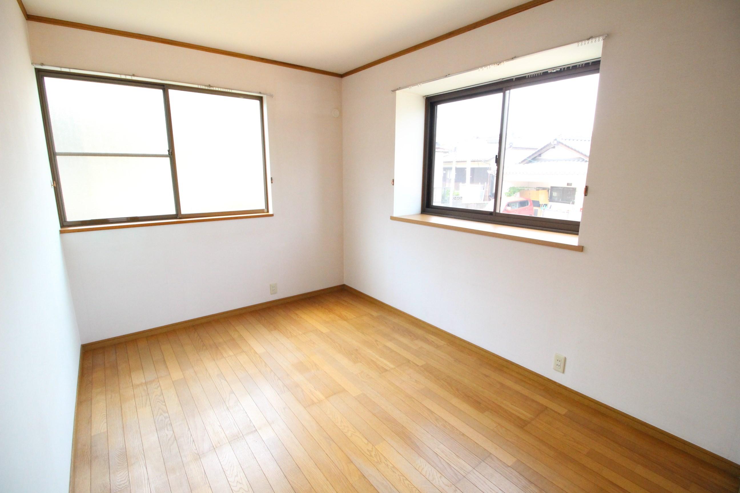 西大坪Mアパート ベッドルーム