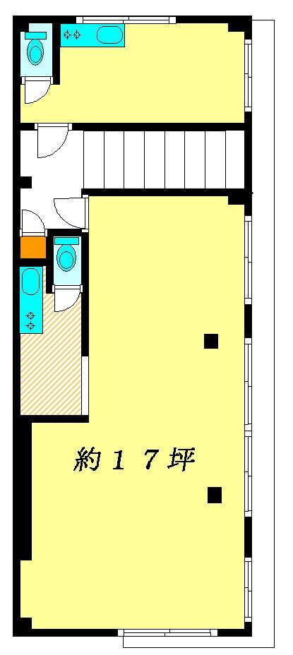 ドミール錦店舗 2号室 間取り