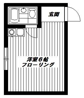 東京都中野区新井1丁目 間取り
