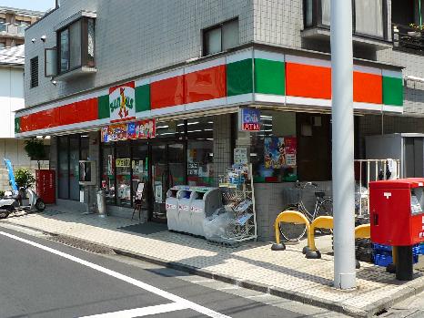 サンクス 中野新井店