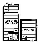 東京都杉並区高円寺北3丁目 間取り