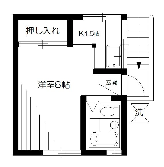 東京都中野区新井3丁目 間取り
