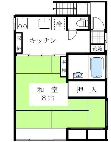 W邸2階部分 間取り図
