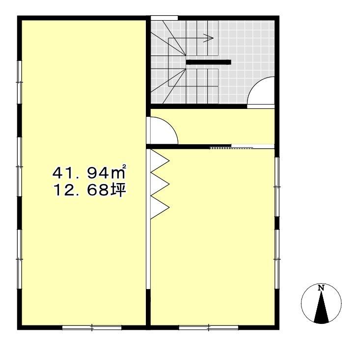 ライズビーアパートキョウドウ 2階号室 間取り