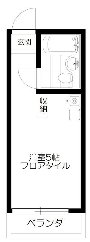 TOP中野第2 313号室 間取り