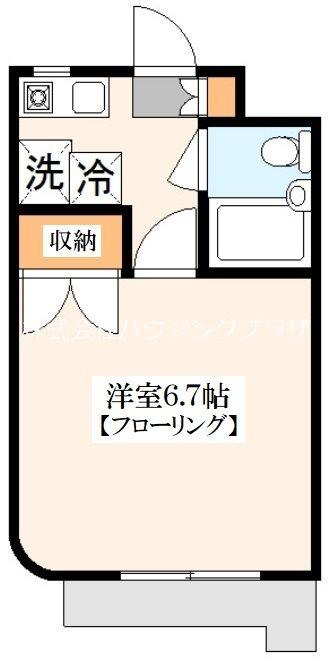 ベラパラッシオ田中 間取り図