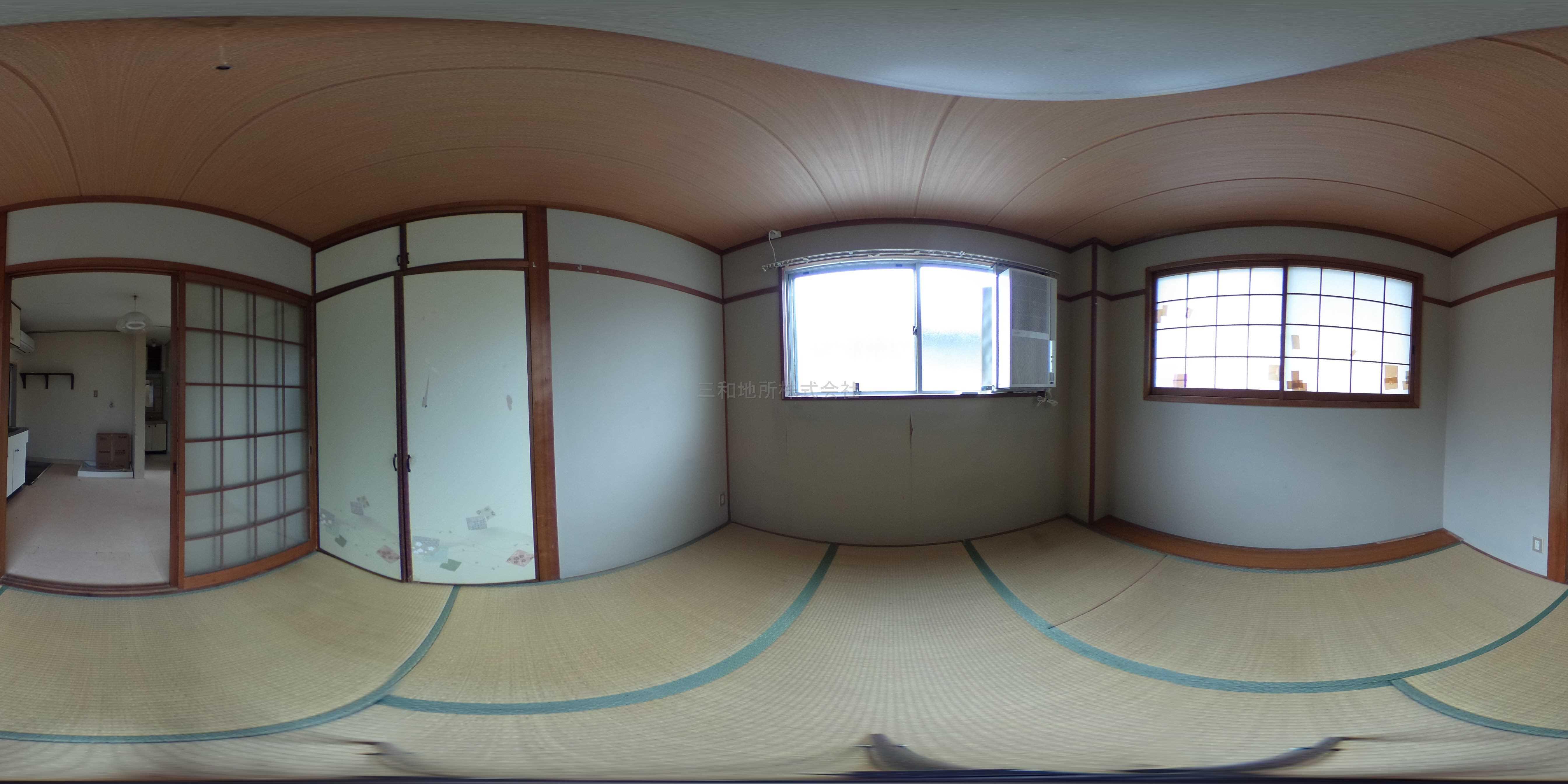 西村アパート 和室