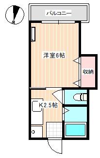 第二金家ビル 間取り図