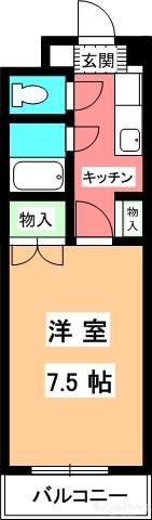 ジョイフル第1朝生田 間取り