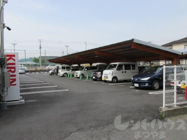 此花川又駐車場 外観