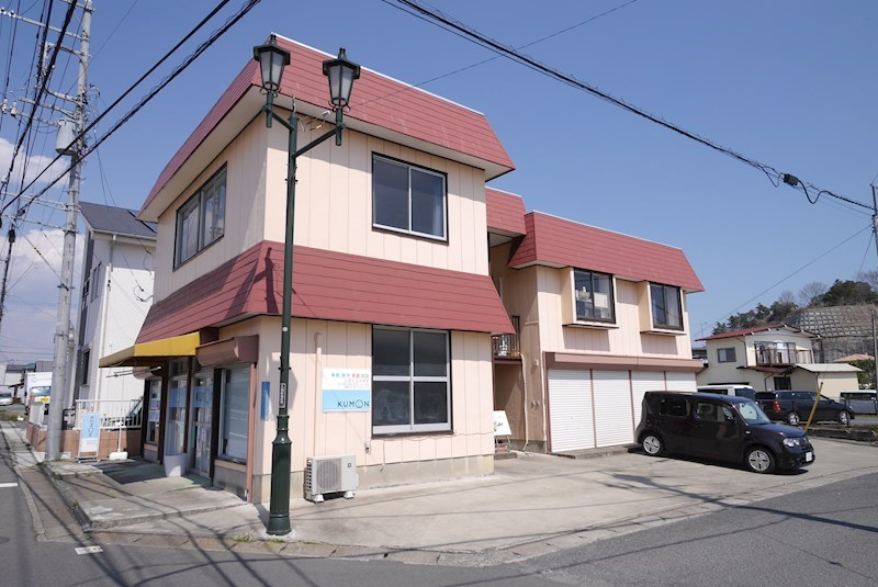 久慈町古沢テナント 2F西側号室 外観