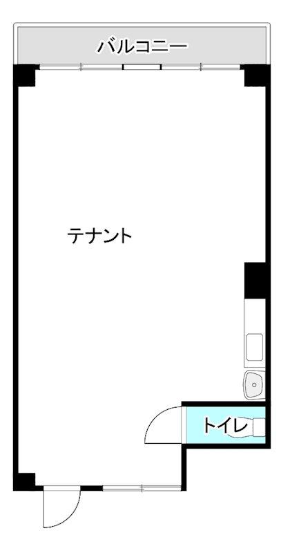 第3井上ビル 203号室 間取り