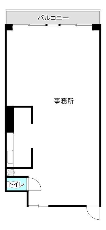 第3井上ビル 206号室 間取り