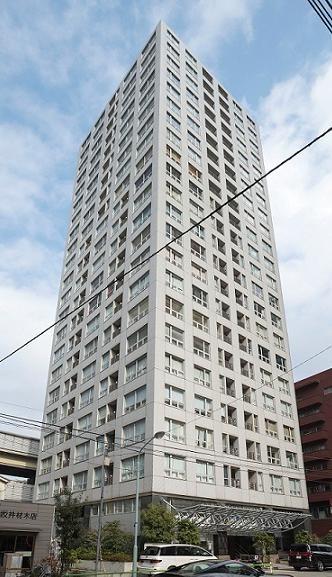 レジディアタワー麻布十番 外観写真