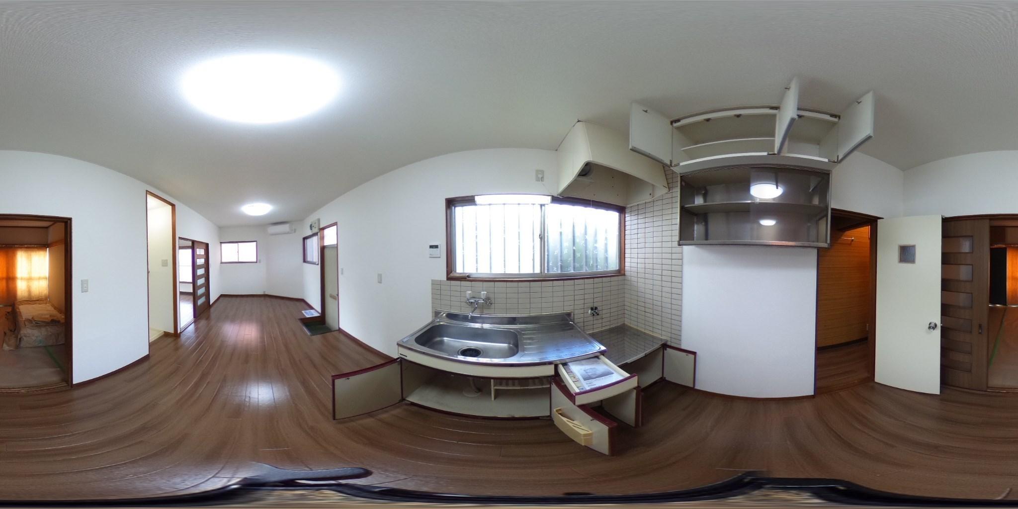 月岡荘 キッチン